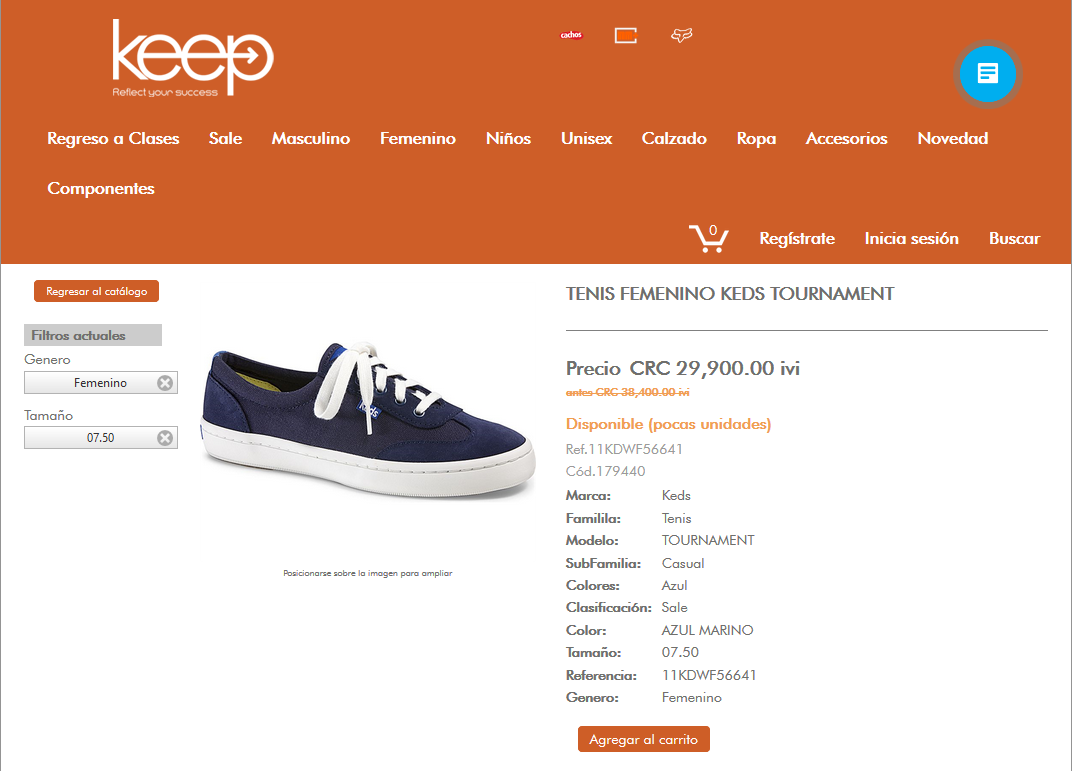 zapatos keds costa rica 60439